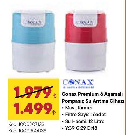 Conax Premium 6 Aşamalı Pompasız Su Arıtma Cihazı image