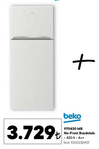 Beko 970430 MB No-Frost Buzdolabı image