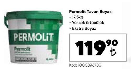 Permolit Tavan Boyası 17,5 kg image