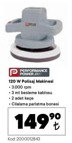 Performance Power Polisaj Makinesi 120 W image