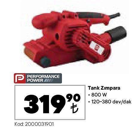 Performance Power Tank Zımpara 800 W image