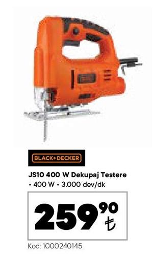 Black+Decker JS10 Dekupaj Makinesi 400 W image