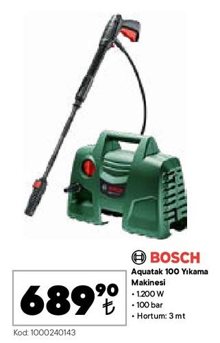 Bosch Aquatak 100 Yıkama Makinesi 1200 W image