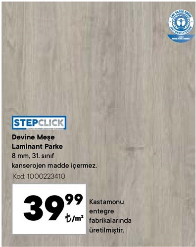 Stepclick Devine Meşe Laminant Parke m² image