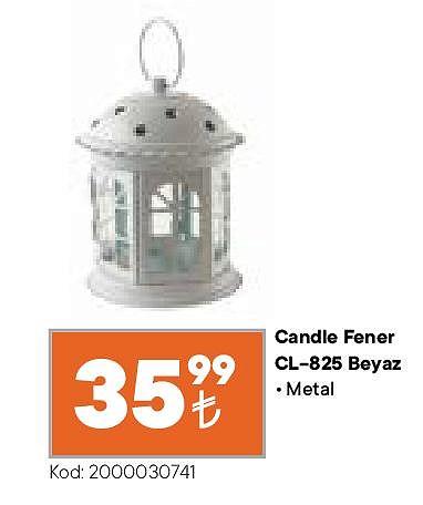 Candle Fener CL-825 Beyaz image