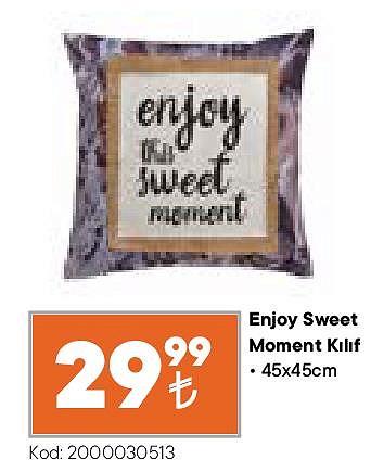 Enjoy Sweet Moment Kılıf 45x45 cm image