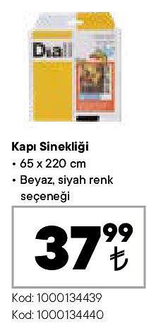 Kapı Sinekliği 65x220 cm image