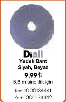 Diall Yedek Bant 5,6 m Sineklik için image