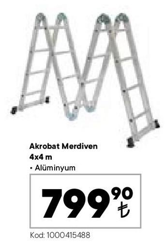 Akrobat Merdiven 4x4 m image