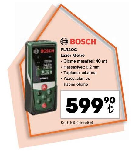 Bosch PLR40C Lazer Metre image