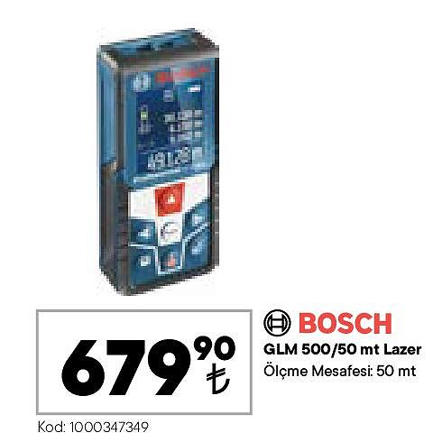 Bosch GLM 500/50 mt Lazer  image