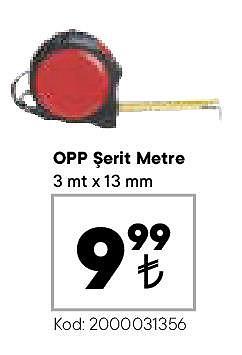 Opp Şerit Metre 3 mtx13 mm image