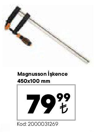 Magnusson İşkence 450x100 mm image