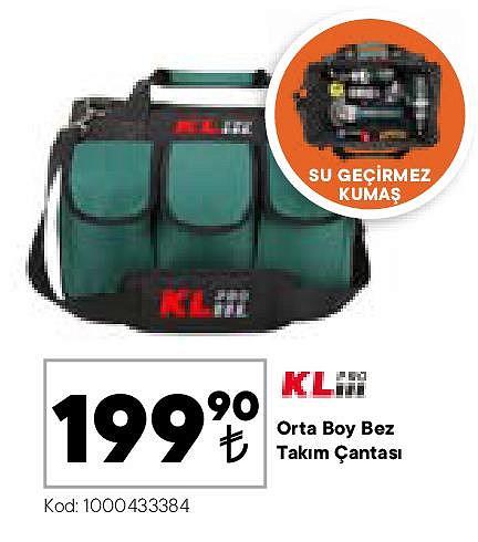 KL Pro Orta Boy Bez Takım Çantası image