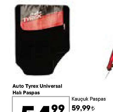 Auto Tyrex Universal Halı Paspas image