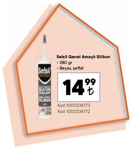 Selsil Genel Amaçlı Silikon 280 gr image