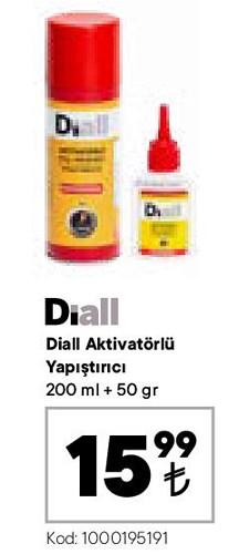 Diall Aktivatörlü Yapıştırıcı 200 ml+50 gr image