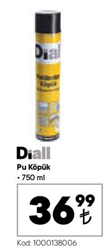Diall Pu Köpük 750 ml image