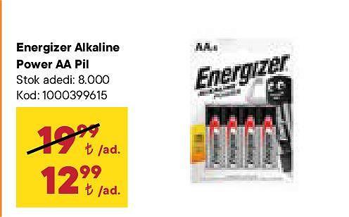 Energizer Alkaline Power AA Pil image
