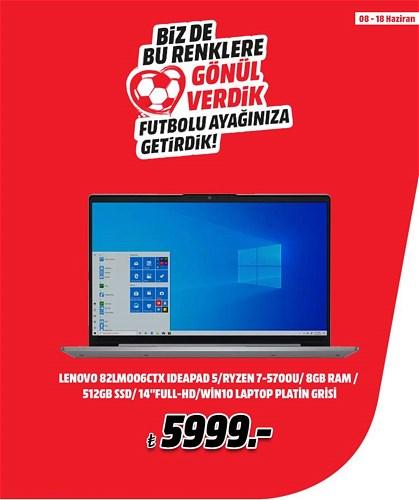 """Lenovo 82LM006CTX IdeaPad 5/Ryzen 7-5700U/8GB RAM/512GB SSD/ 14""""Full-HD/Win image"""