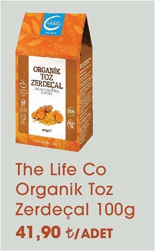 The Life Co Organik Toz Zerdeçal 100 g image