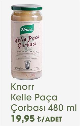 Knorr Kelle Paça Çorbası 480 ml image