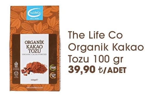 The Life Co Organik Kakao Tozu 100 gr image