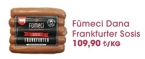 Fümeci Dana Frankfurter Sosis kg image
