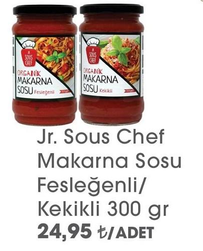 Jr.Sous Chef Makarna Sosu Fesleğenli/Kekikli 300 gr image