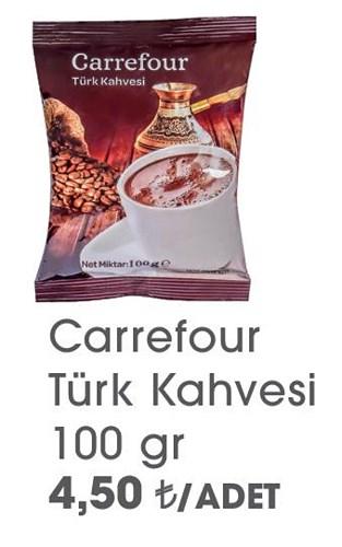 Carrefour Türk Kahvesi 100 g image