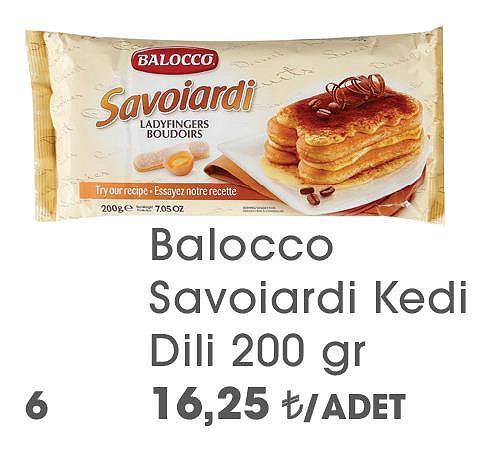 Balocco Savoiardi Kedi Dili 200 gr image