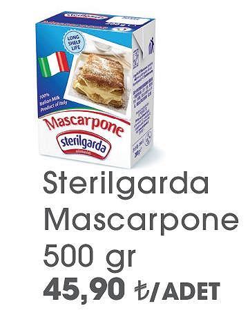 Sterilgarda Mascarpone 500 gr image