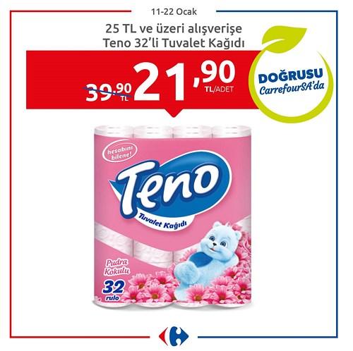 Teno 32'li Tuvalet Kağıdı image