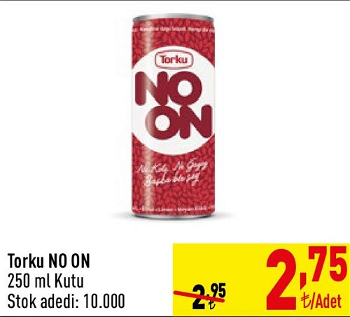 Torku No On 250 ml Kutu image