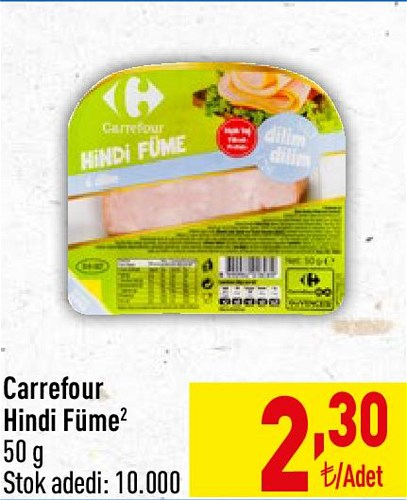 Carrefour Hindi Füme 50 g image
