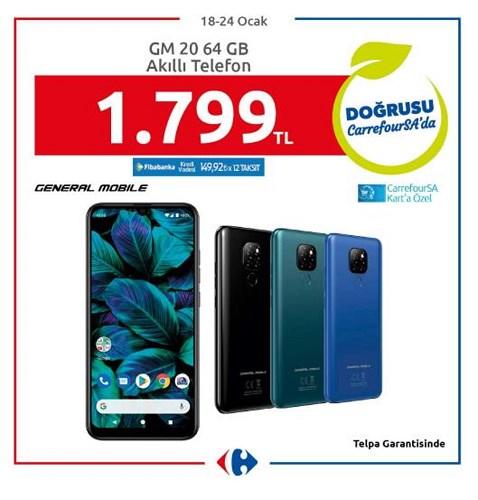 General Mobile GM 20 64 GB Akıllı Telefon image