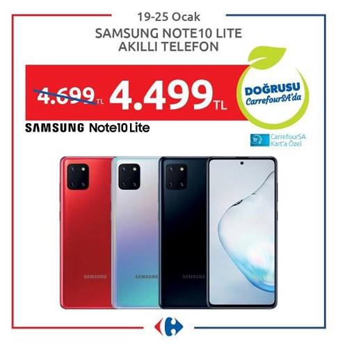 Samsung Note 10 Lite Akıllı Telefon image