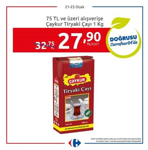 Çaykur Tiryaki Çayı 1 kg image