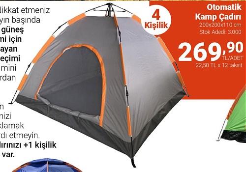 Kamp Çadırı 4 Kişilik image