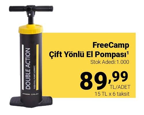 Freecamp Çift Yönlü El Pompası image