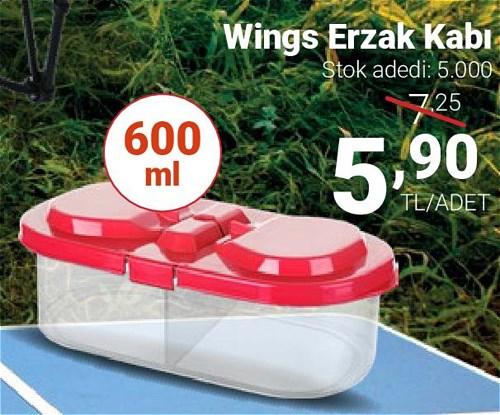 Wings Erzak Kabı 600 ml image