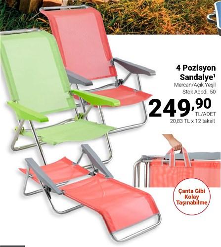 4 Porsiyon Sandalye image