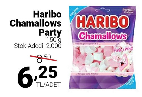 Haribo Chamallows Party 150 g image