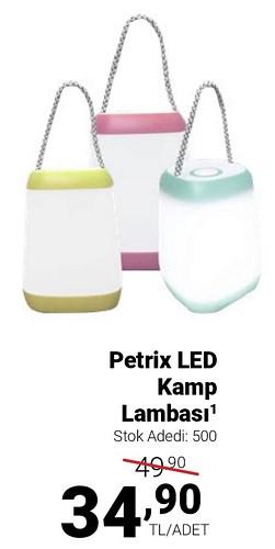 Petrix Led Kamp Lambası image
