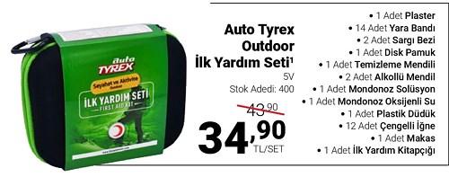 Auto Tyrex Outdoor İlk Yardım Seti image