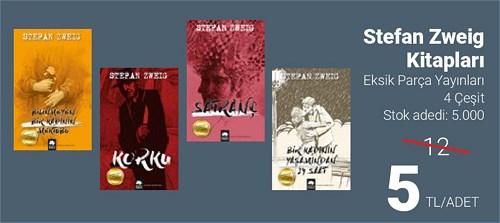 Stefan Zweig Kitapları/Adet image