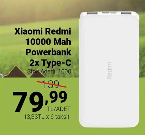 Xiaomi Redmi 10000 Mah Powerbank 2x Type-C image