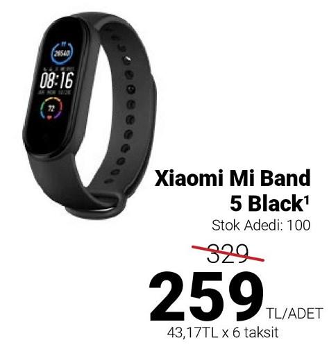 Xiaomi Mi Band 5 Black image