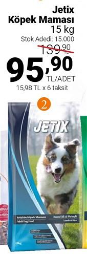 Jetix Köpek Maması 15 kg image
