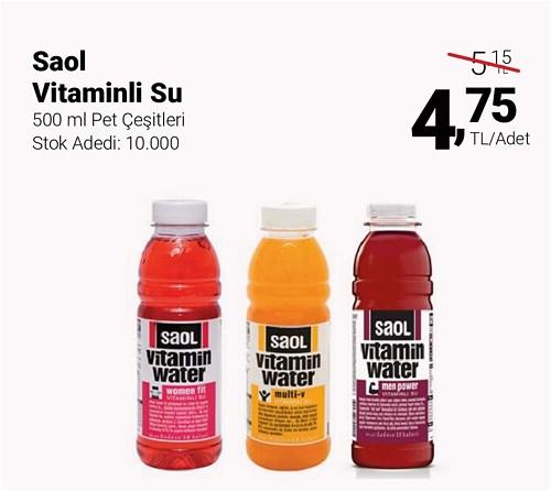 Saol Vitaminli Su 500 ml Pet Çeşitleri image